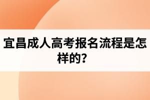 宜昌成人高考报名流程是怎样的?